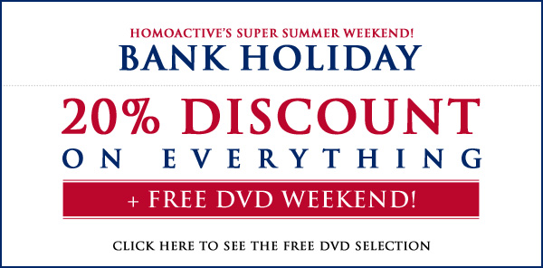 Homoactive.com & Radvideo.com - Memorial Day Sale - Shopping mania!